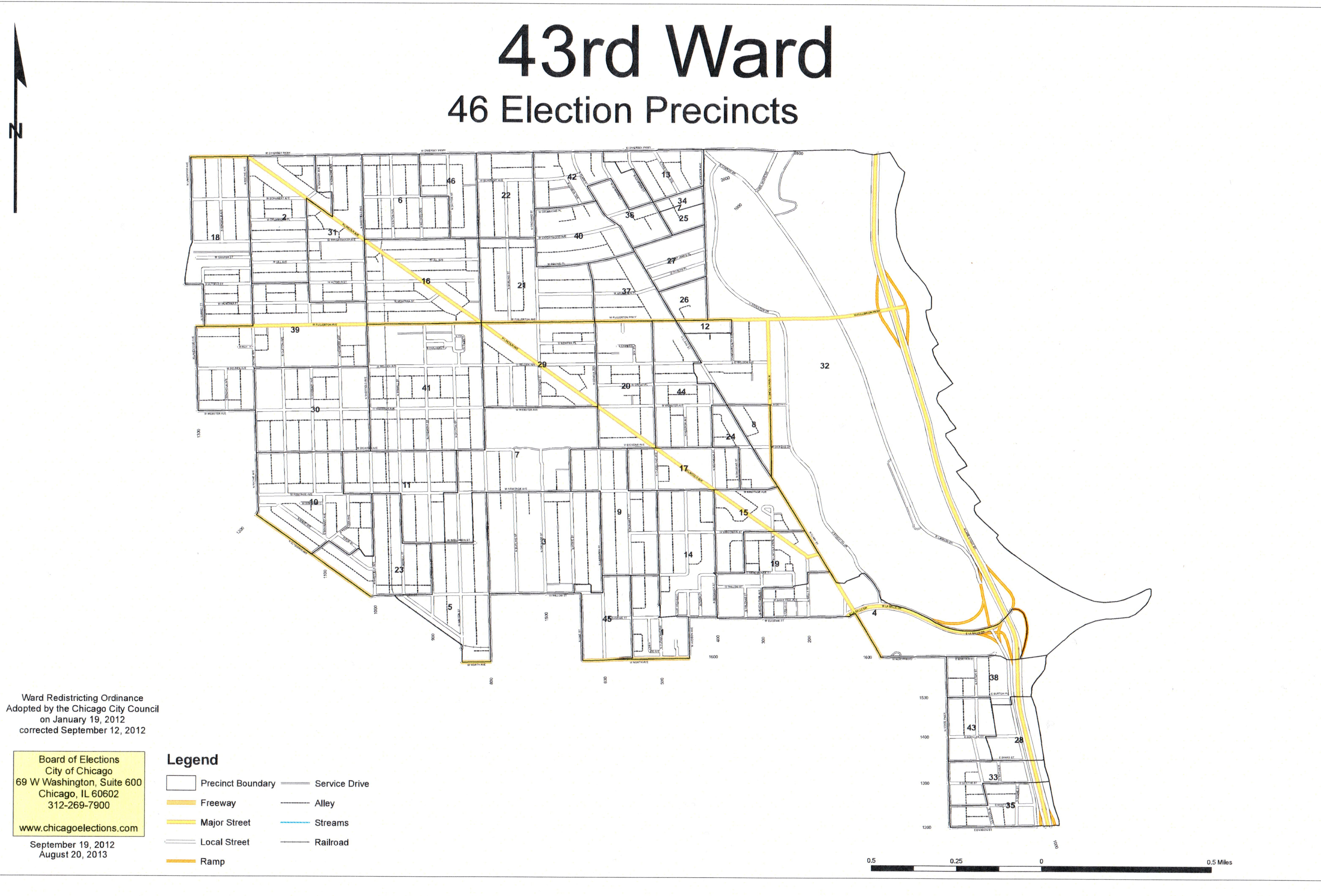 Ward MapChicagos Rd Ward Chicagos Rd Ward - Chicago il map neighborhoods