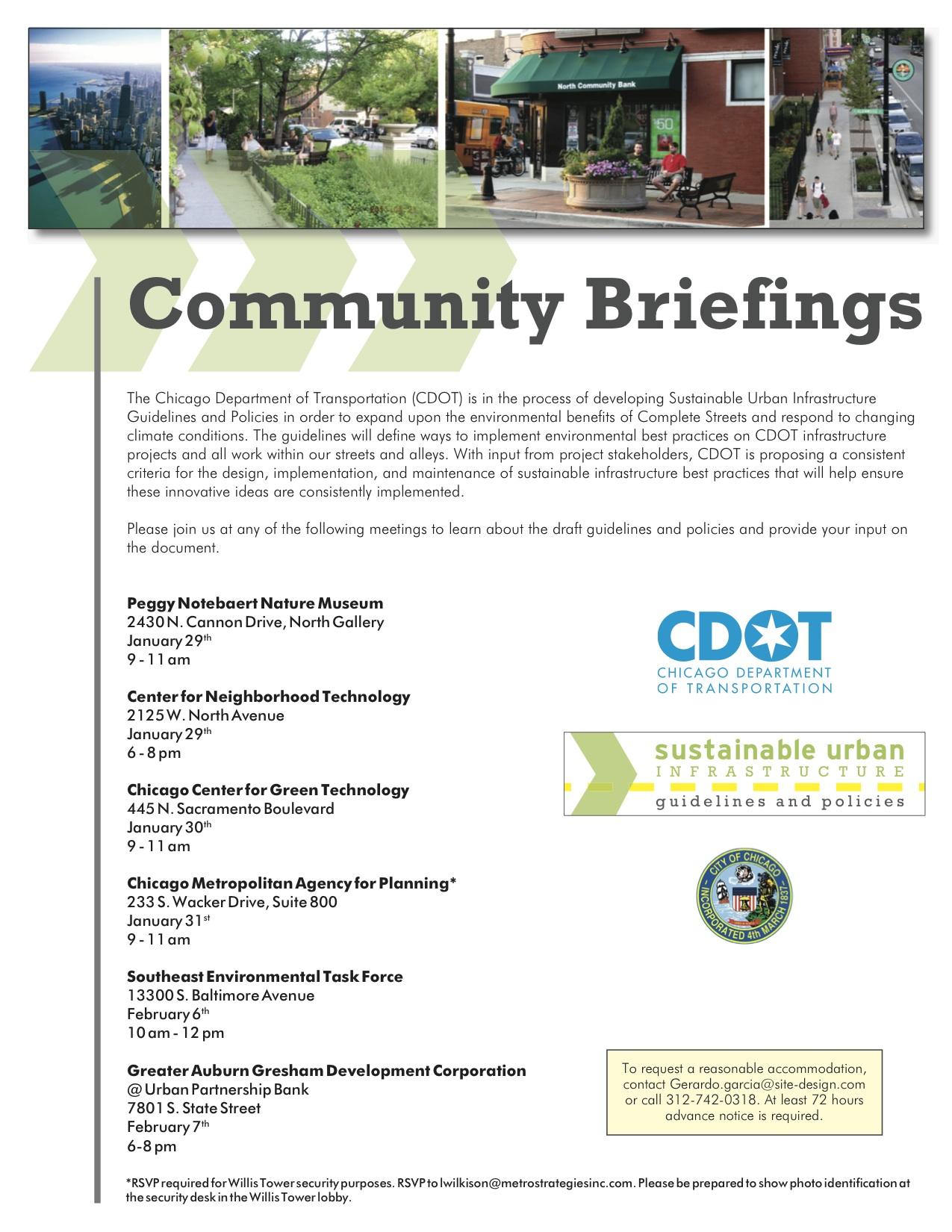 Sheffield Music Festival Garden Walk: CDOT Sustainable Urban Infrastructure Community