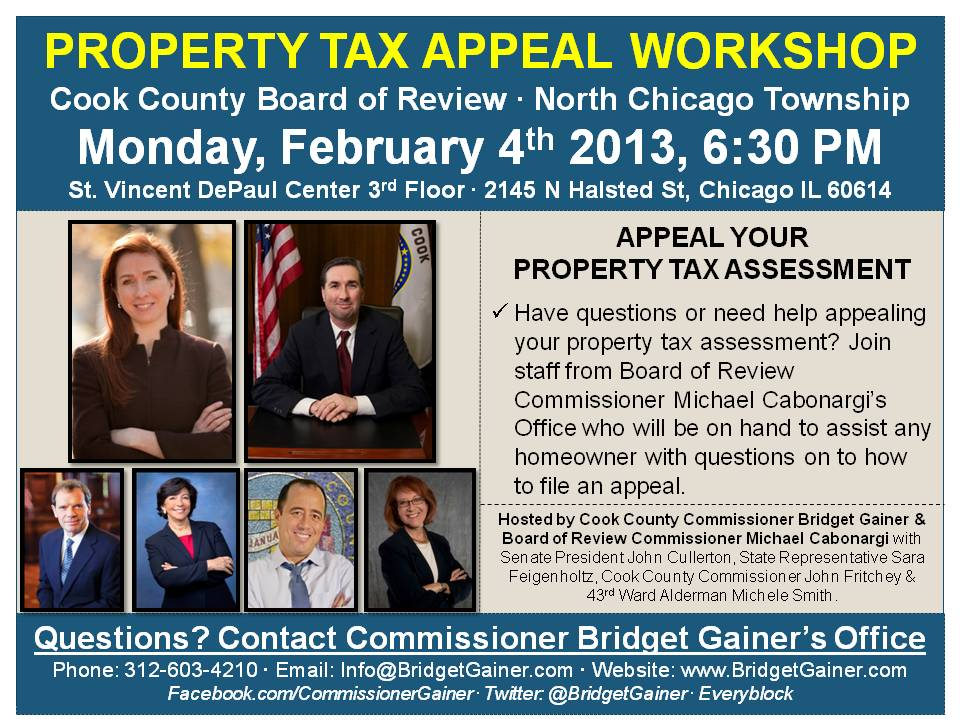 Lincoln Property Tax Chicago