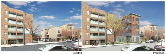 1818 N Halsted - Proposed development rendering