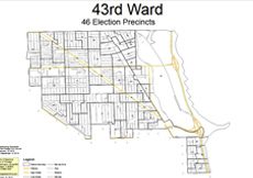 3rd Ward Chicago Map.Chicago S 43rd Ward Alderman Michele Smith S Office Serves The